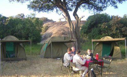 4 days camping safari Lake Manyara, Serengeti & Ngorongoro