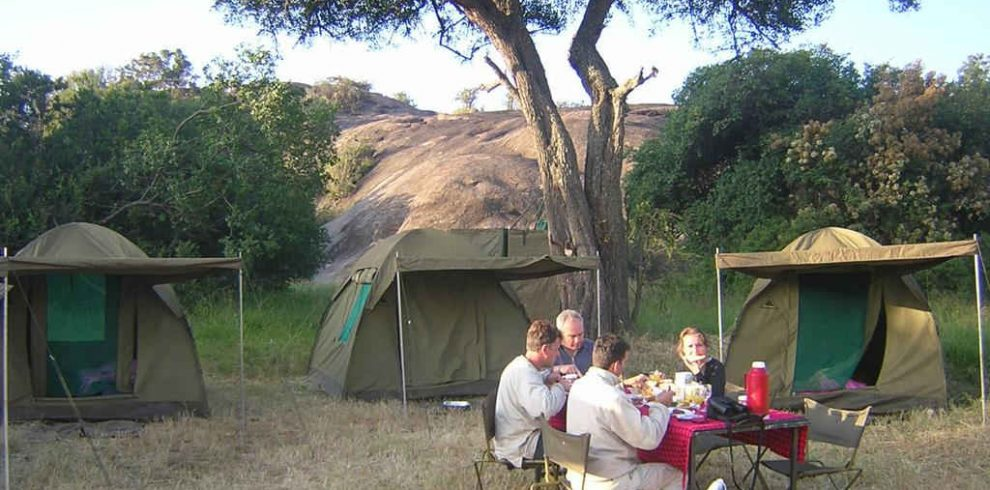 4 days camping safari Lake Manyara, Serengeti & Ngorongoro