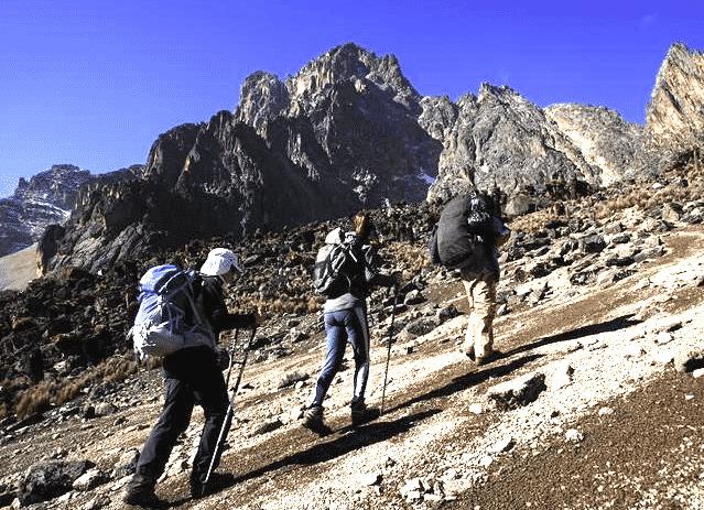 Mt Kenya Lenana peak