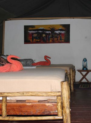 Selous Zarafa Tented Camp room view