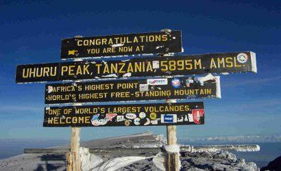 Mount Kilimanjaro Uhuru Peak
